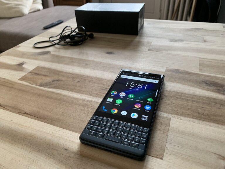 Blackberry Key2 LE: Der vorerst letzte Blackberry