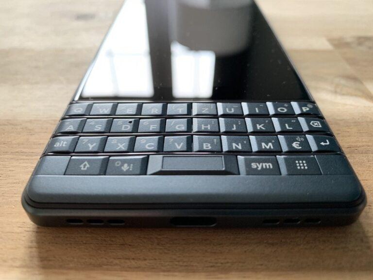 Die berühmte Blackberry-Tastatur findet sich auch im Key2 LE wieder.