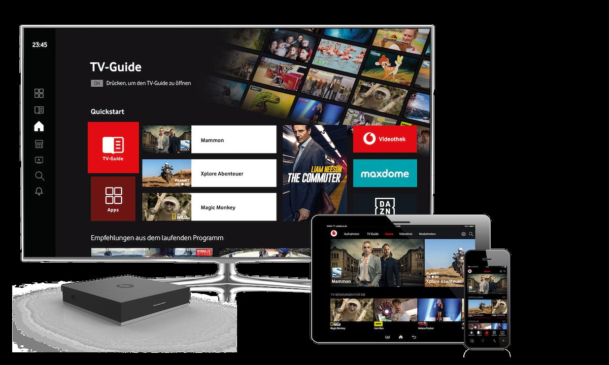 GigaTV Net: Vodafone Macht TV-Angebot Unabhängig