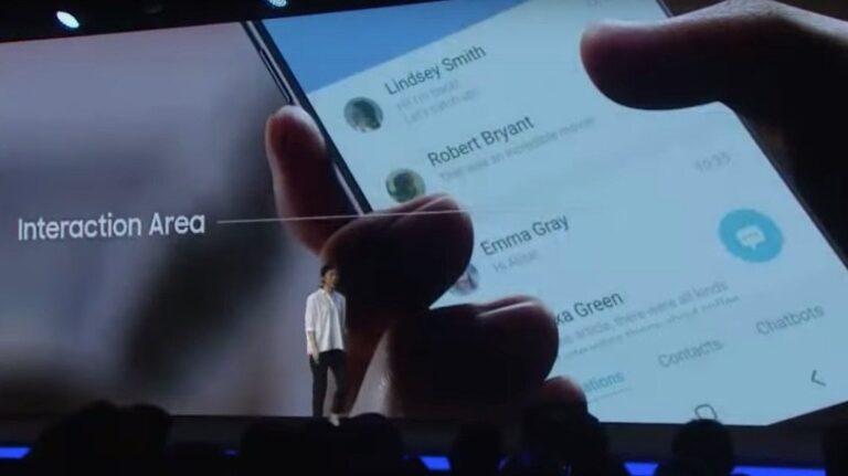 Samsung One UI: Live-Foto von Samsungs Entwicklerkonferenz