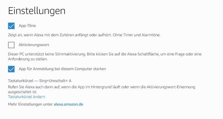 Ein Bug? Das Aktivierungswort kann nicht genutzt werden. (Foto: Screenshot)