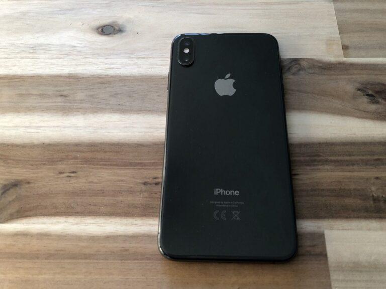 iPhone Xs Max Rückseite