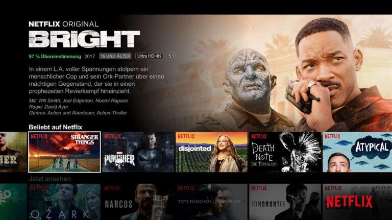 Netflix unterstützt auf den neueren Xbox-One-Modellen HDR, Dolby Vision und 4K. (Foto: Netflix)