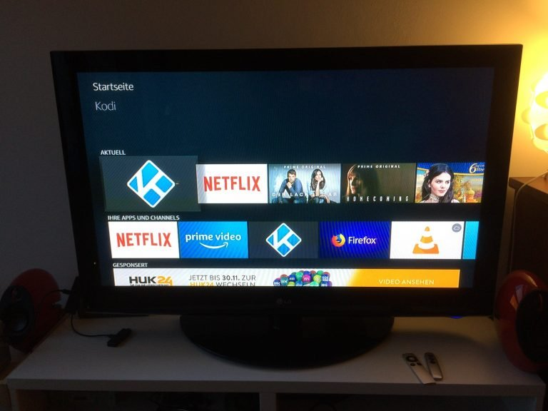 Kodi auf Amazon Fire TV Stick 4K