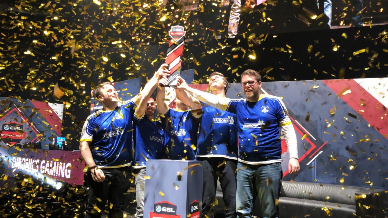 Euronics Gaming: Dritter ESL-Titel in Folge bei League of Legends