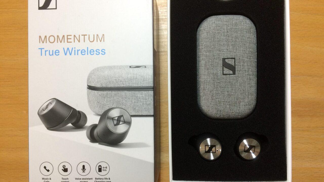 Sennheiser Momentum True Wireless ausprobiert: Kabellos und passgenau