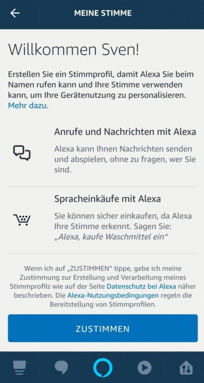 Was könnt ihr mit Alexa-Stimmerkennung anstellen? (Foto: Screenshot)