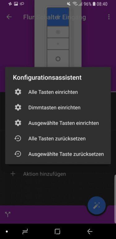 Wer es bequemer mag: Der Konfigurationsassistent macht es leichter. (Foto: Screenshot)