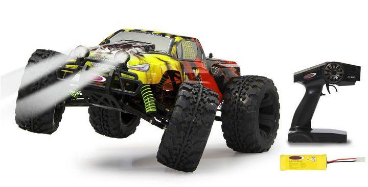 Ein Monster von einem ferngesteuerten Auto. (Foto: Jamara)