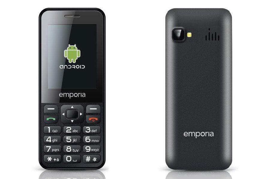 Das Senioren-Smartphone Emporia Talksmart läuft bereits unter Android (Bild: Emporia)