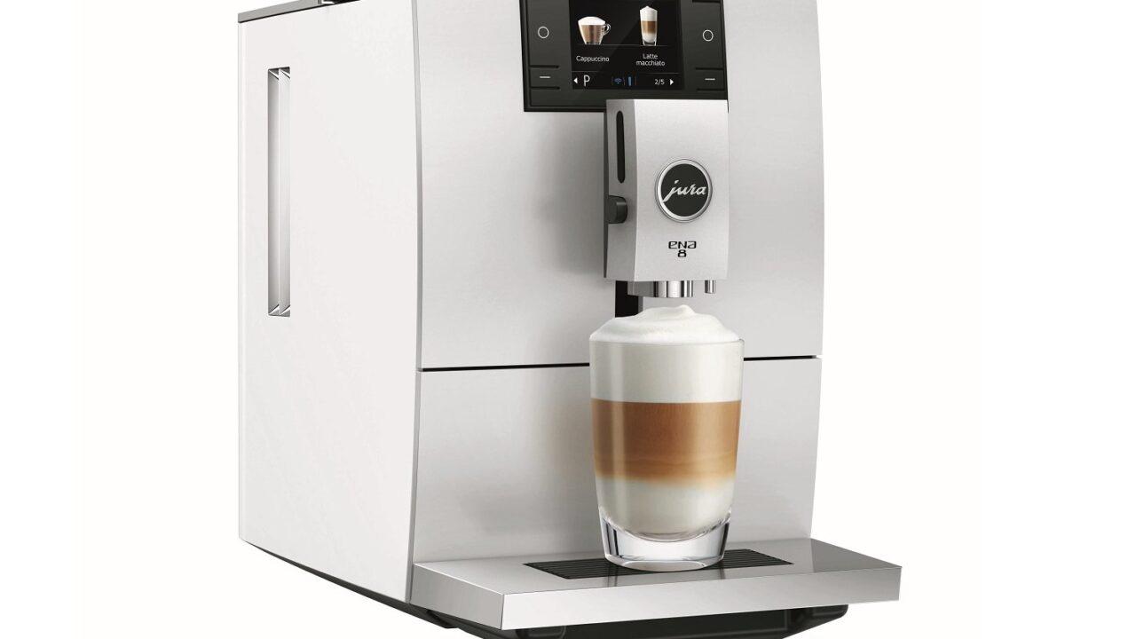 Jura Ena 8: Schicker Kaffeevollautomat mit ordentlich Druck