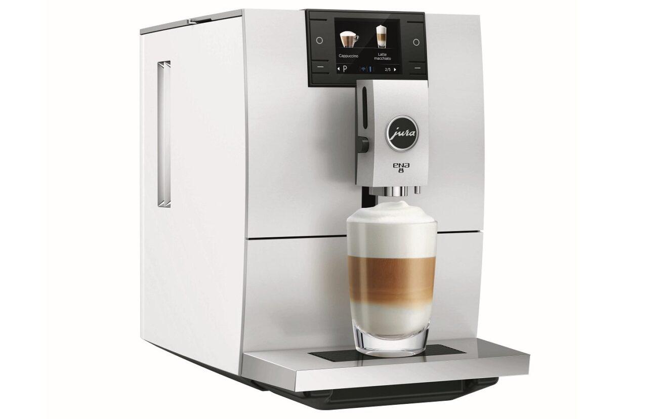 Kaffeevollautomat Jura Ena 8 weiß (Bild: Jura)