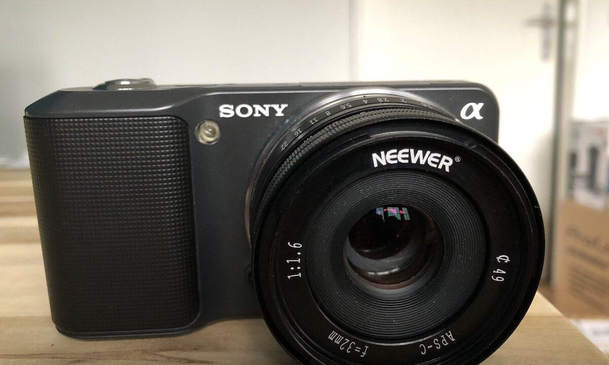 Nostalgie-Tech: Nicht ohne meine Sony Nex-3