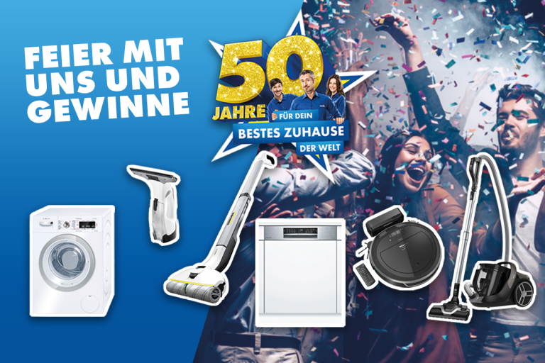 Euronics Mottoparty Haushalt (Bild: Euronics)