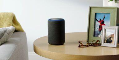 Ein Echo erlaubt bequeme Alexa-Sprachbefehle für Philips Hue. (Foto: Amazon)