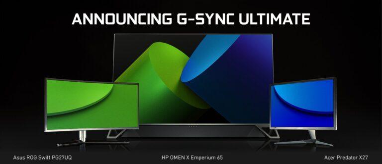 G-Sync Ultimate bietet noch mehr... (Foto: Nvidia)