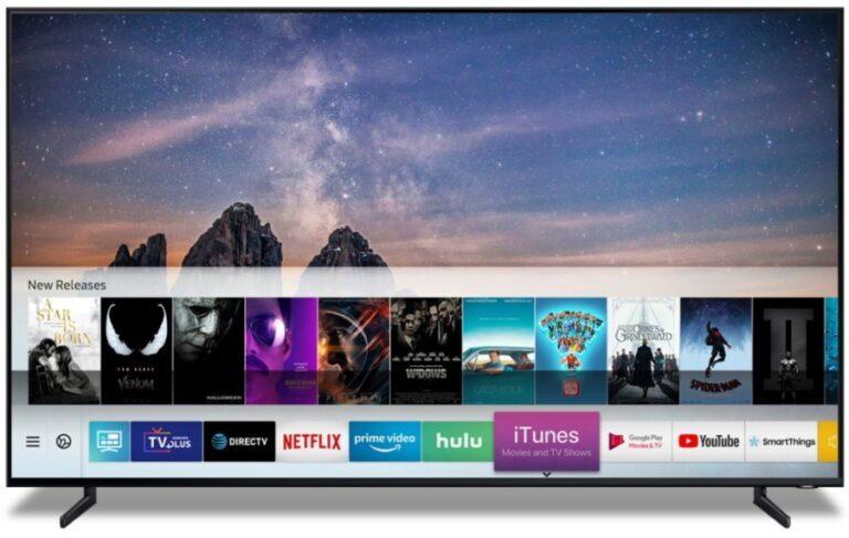 iTunes kommt auf Samsung-Fernseher. (Foto: Samsung)
