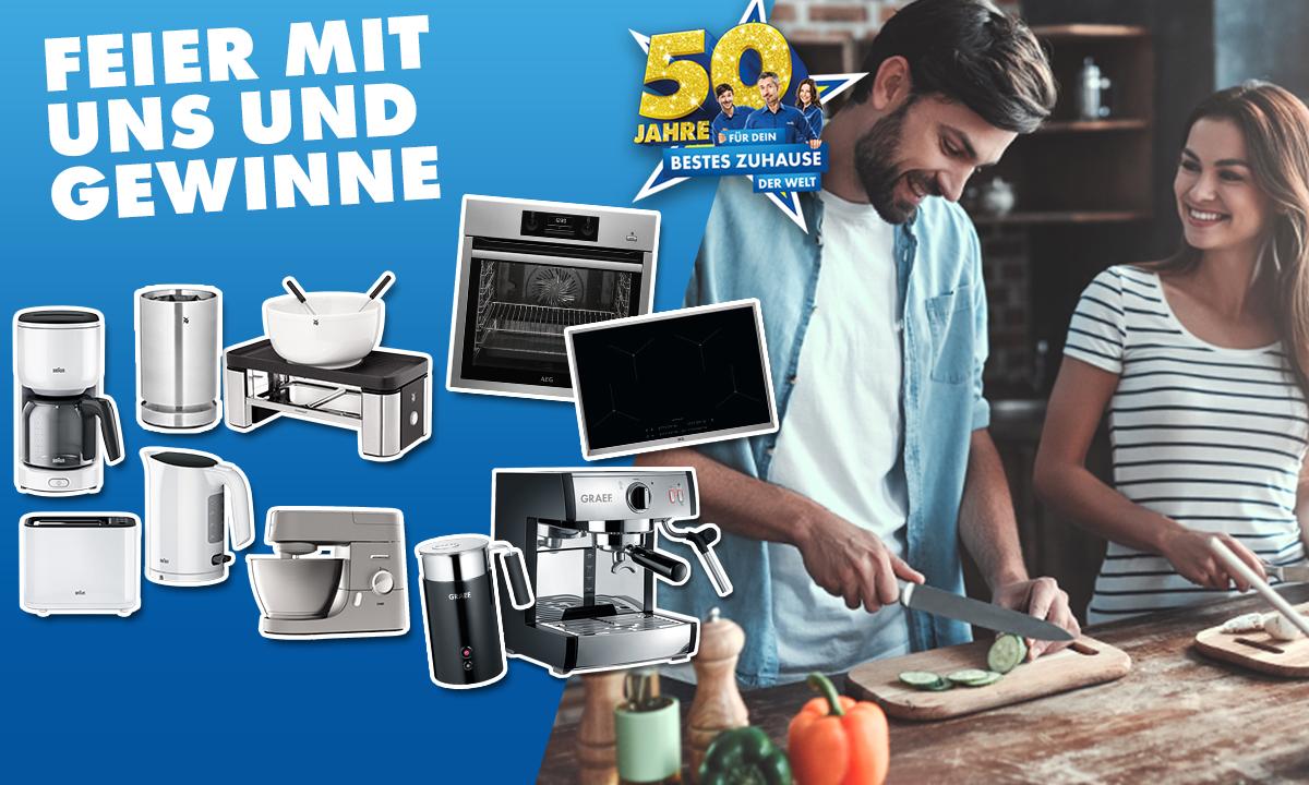 50 Jahre EURONICS: Gewinne eine Profi-Austattung für deine beste Küche