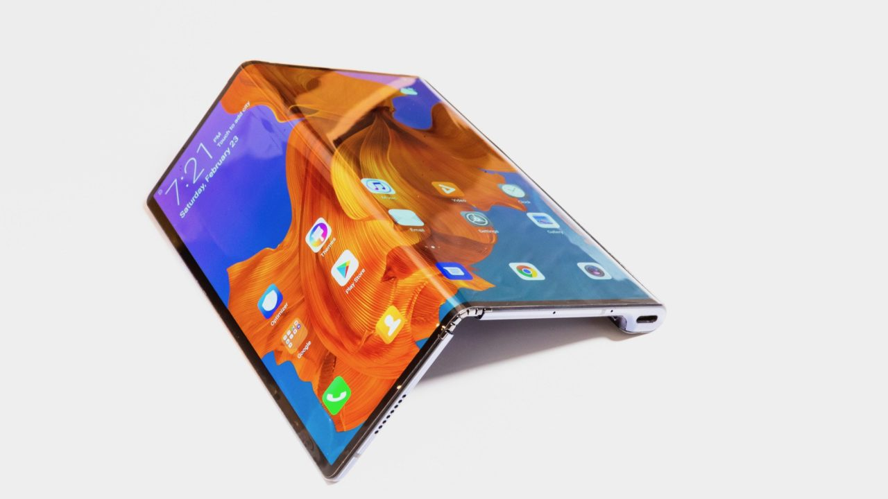 Faltbares Smartphone Huawei Mate X: Innovation made in China