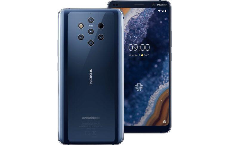 Smartphones wie das Nokia 9 PureView mit Fünffachkamera haben mächtig aufgeholt.