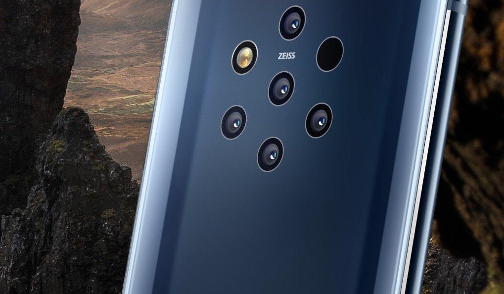Nokia 9 Pureview: Smartphone mit 5 Kameras für detailreiche Fotos