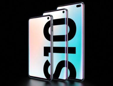 Samsung Galaxy S10-Familie