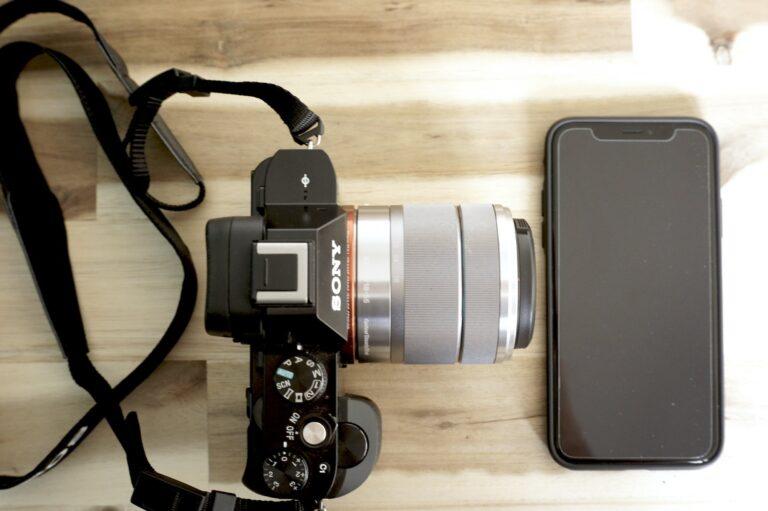 Smartphone vs Vollformatkamera: iPhone X vs. Sony Alpha 7