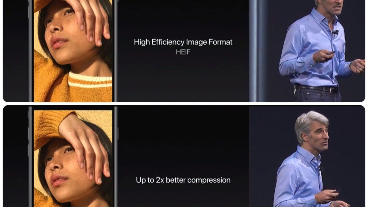 Apple nutzt das neue Fotoformat HEIC: Besser als JPEG?