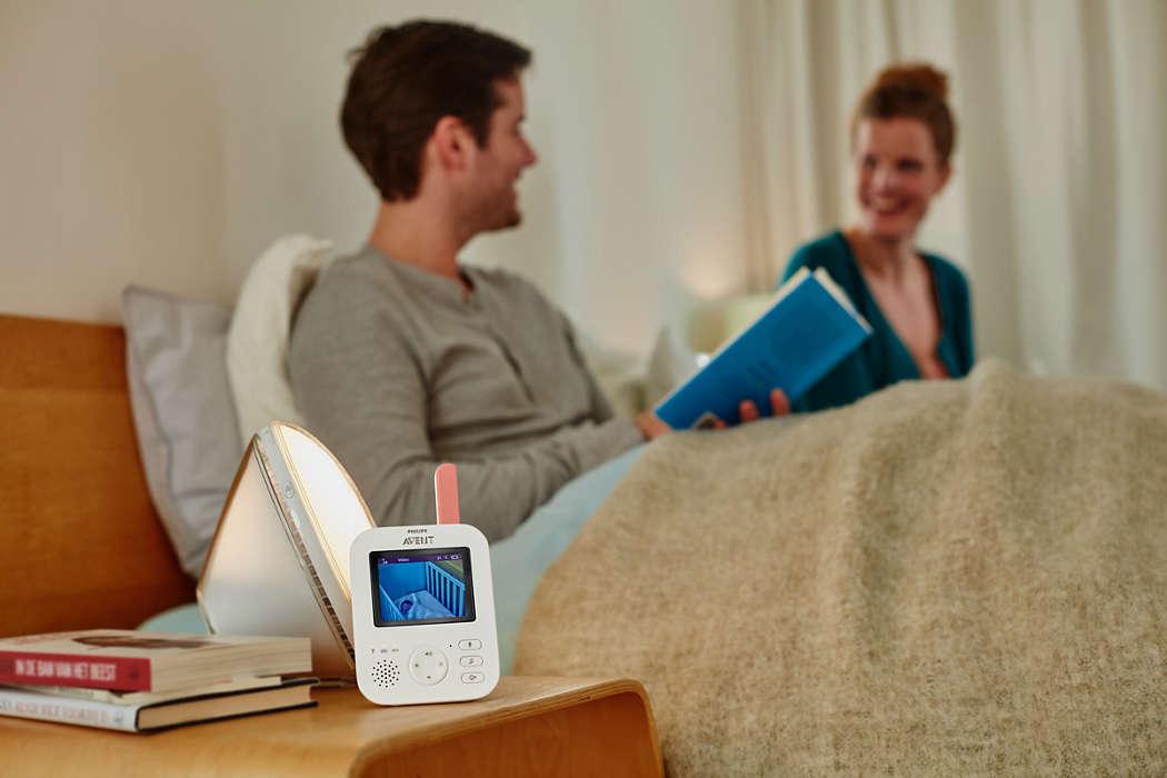 Eine Babycam besitzt in der Regel sehr hochwertige Infrarot-Sensoren für eine gute Nachtsicht. (Foto: Philips)
