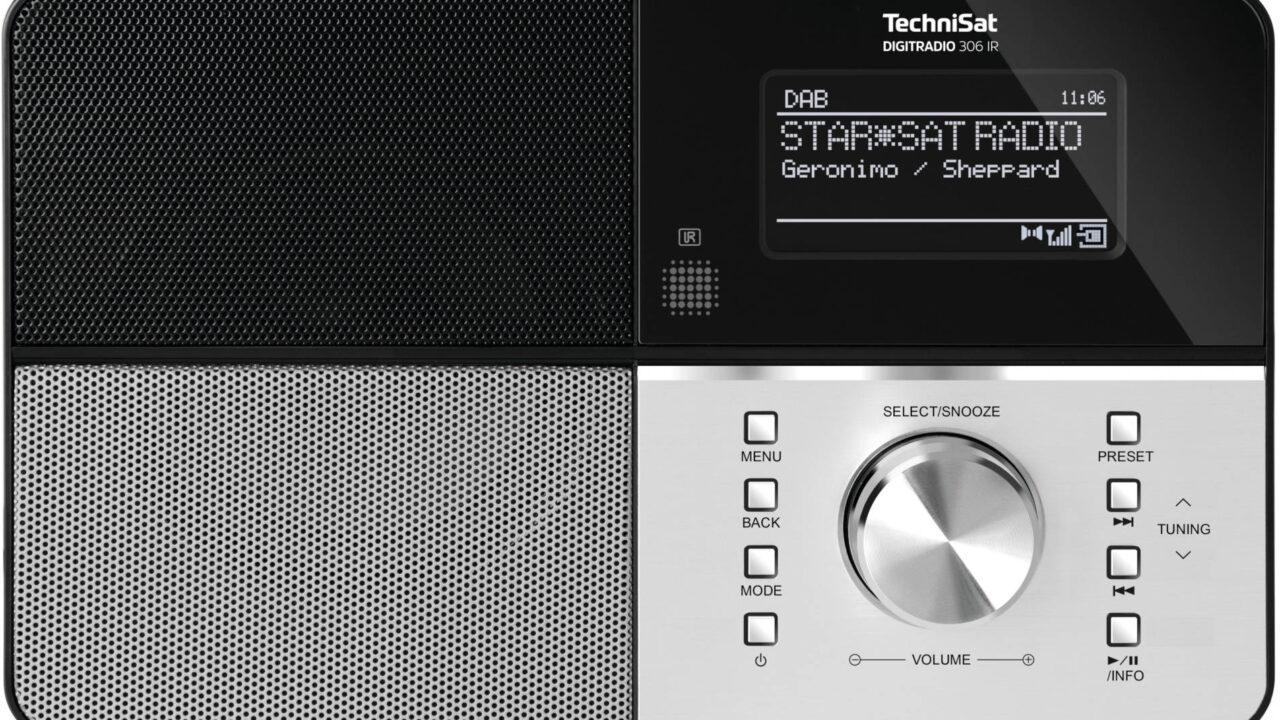 TechniSat Digitradio 306 IR: UKW und DAB+ im Multiroom-System