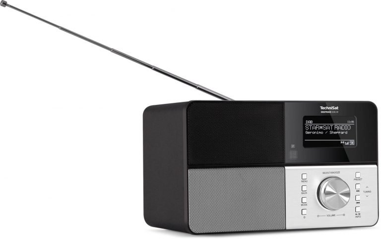 Schlicht und elegant. Das Digitradio 306 IR. Quelle: technisat.com