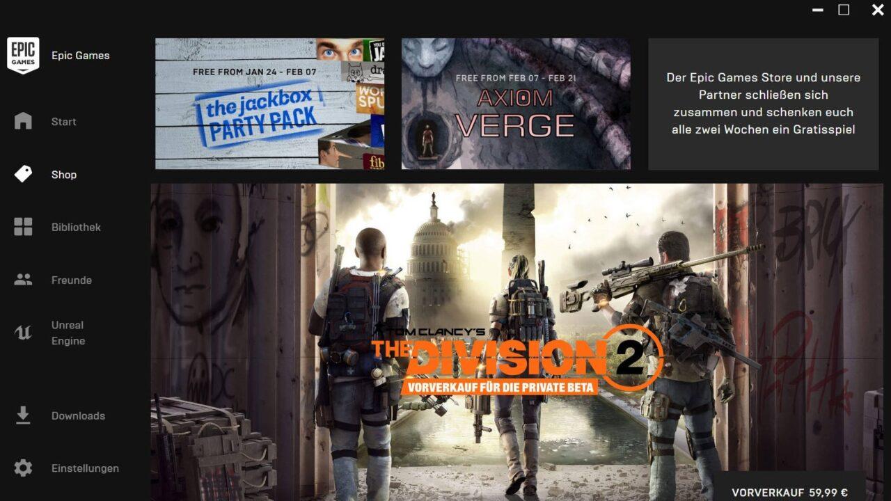 Epic Games Store: Wie der Fortnite-Entwickler Steam Konkurrenz macht