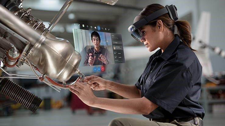Hololens 2 ist noch nichts für den Massenmarkt. (Foto: Microsoft)