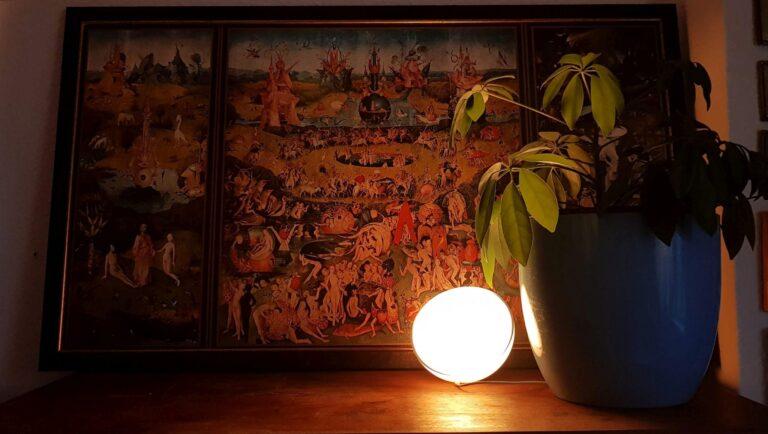 Die mobile Hue Go ist häufig auch Nacht- und Babylicht. (Foto: Sven Wernicke)
