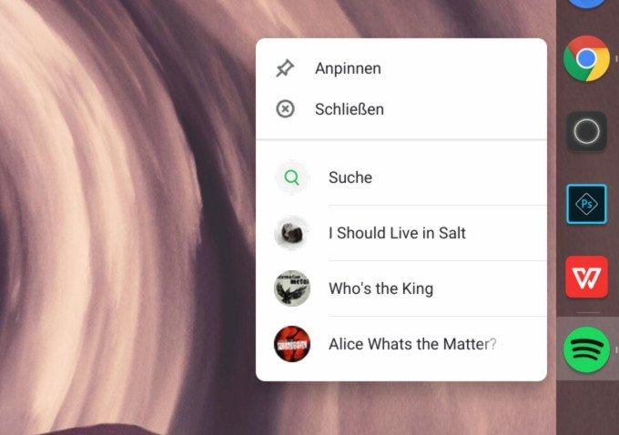 Chrome OS: Auf den ersten Blick kaum von macOS zu unterscheiden.