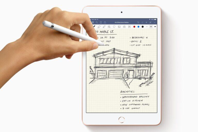 Apple iPad Mini (2019): Beherrscht jetzt auch Stifteingabe