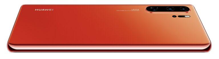 Huawei P30 Pro in der kultigen Farbe Amber Sunrise