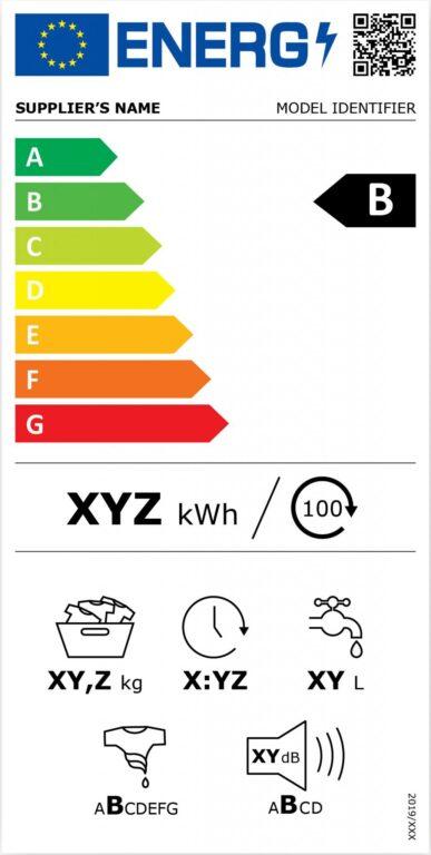 Hier gut zu erkennen: QR-Code und Zusatzinformationen, die das Produkt genauer beschreiben. (Foto: EU)