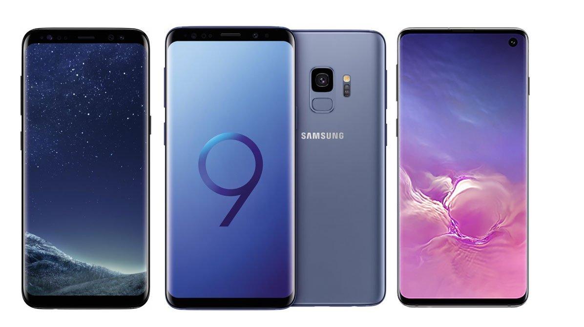 Samsung Galaxy S10 im Vergleich mit S9 und S8: Welches Smartphone ist für wen?