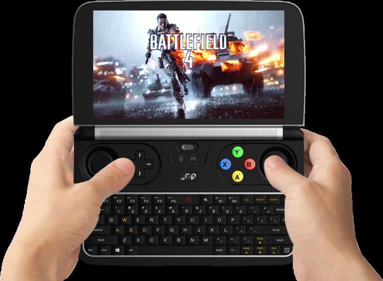 Laptop oder Handheld? Beides! Eine ungewöhnliche Vita-Alternative. (Foto: GPD)