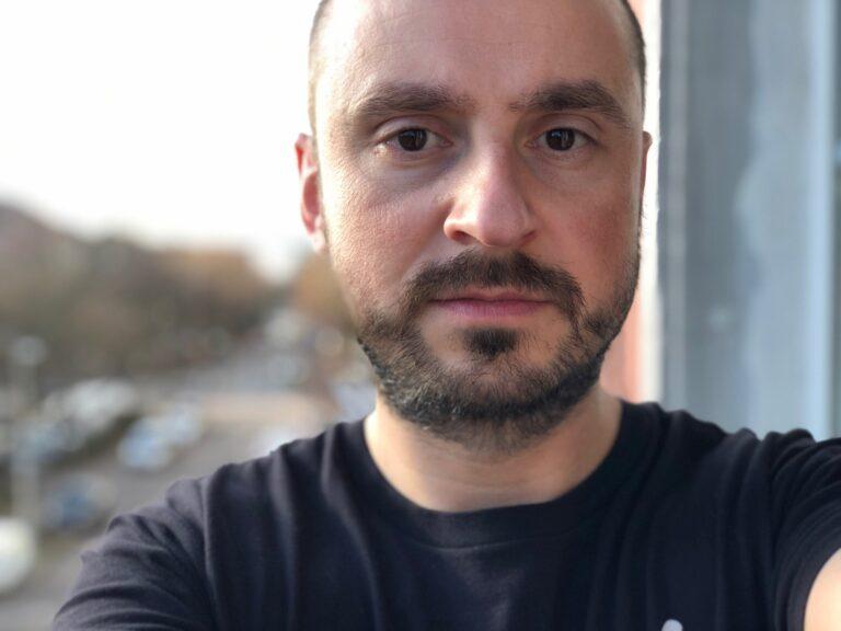 Selbstporträt mit dem iPhone X