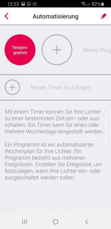 Programme erstellen. (Foto: Screenshot)