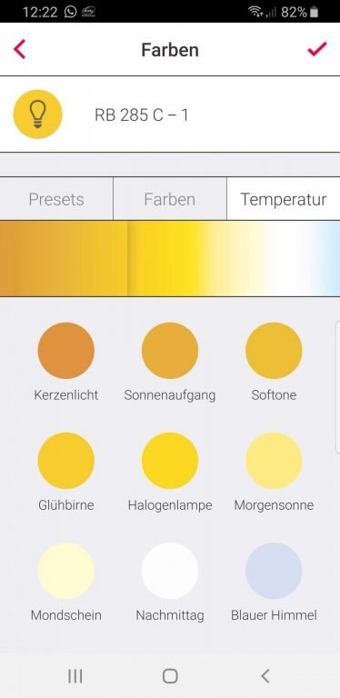 Farbauswahl. (Foto: Screenshot)
