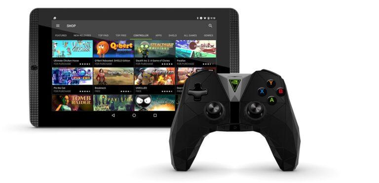 Das Shield Tablet wurde mittlerweile eingestellt. (Foto: Nvidia)