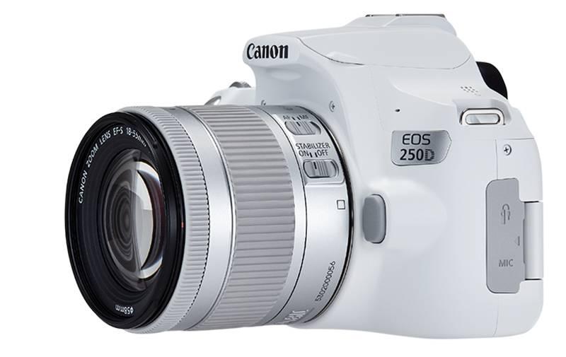 """Canon EOS 250D: """"Leichteste Spiegelreflexkamera"""" im Vergleich zu DSLMs"""