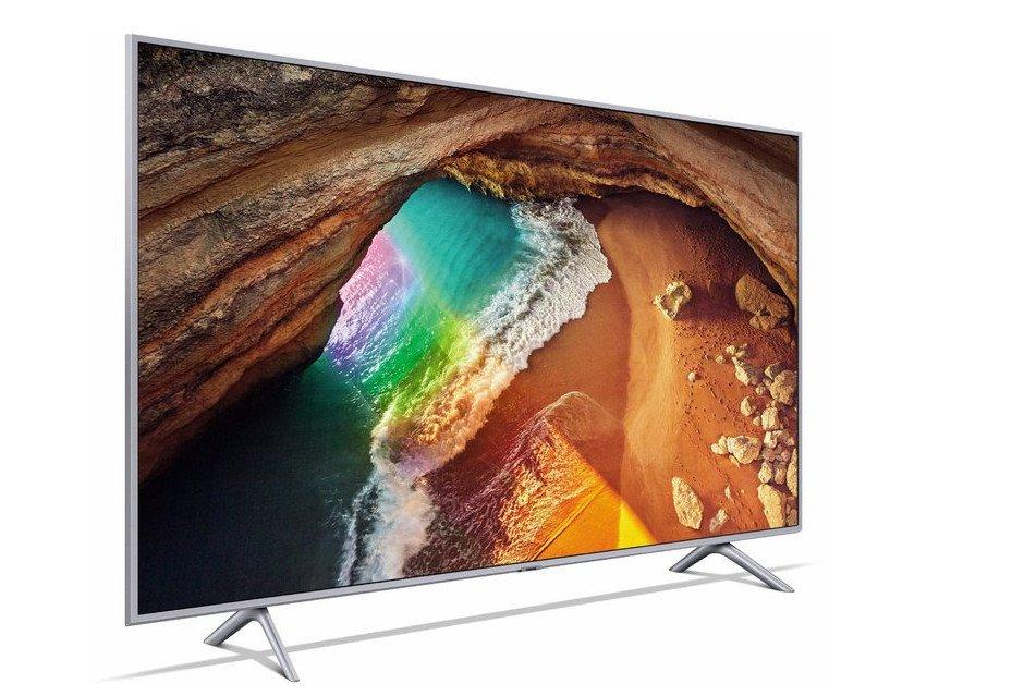 Der QLED-Fernseher Samsung GQ55Q65RGT zeigt eine 4k-Auflösung auf 55 Zoll (Bild: Samsung)