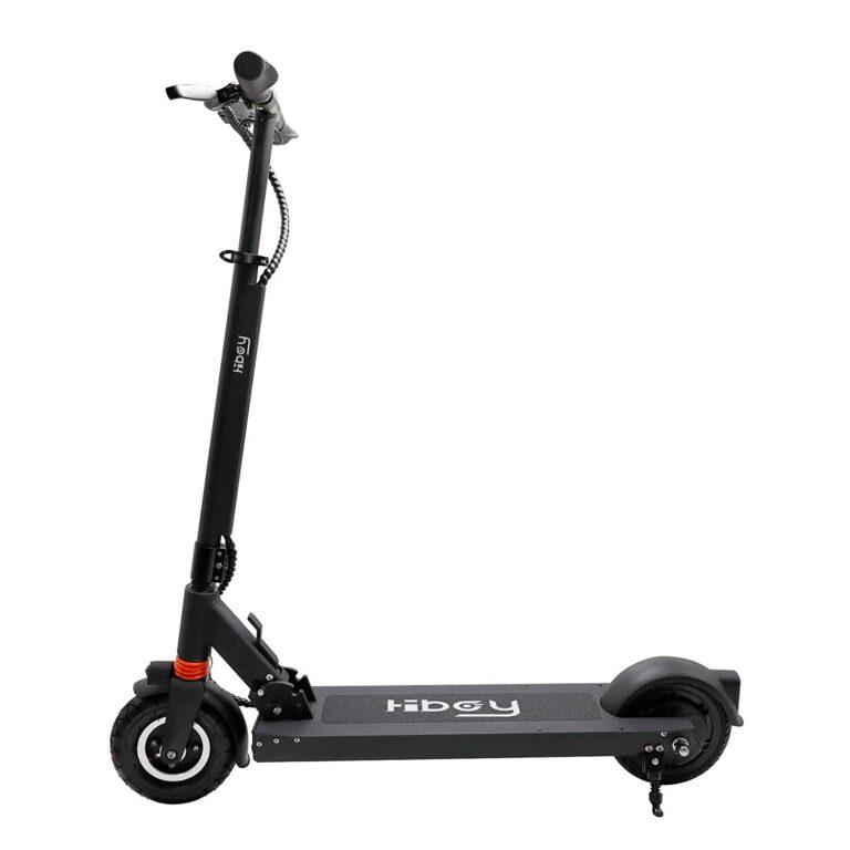Noch sind viele Fragen offen: Dieser Scooter von Hiboy schafft – ebenso wie der von Heliot im Titelbild bis zu 25 km/h, darf aber nur 20.