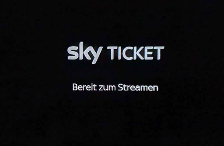 Sky Ticket: Bereit zum Streamen