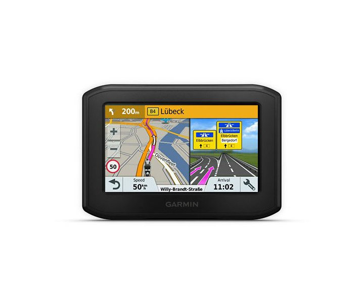 Motorrad-Navigation mit dem Garmin zumo 396LMT-S Mobiles Motorrad-Navigationsgerät