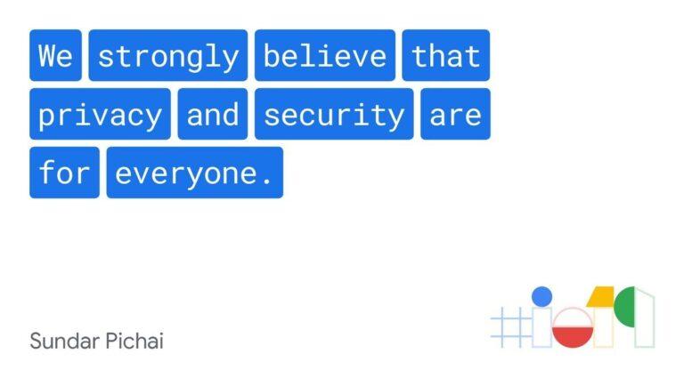 Steht da wirklich, aber wie ernst ist das gemeint? Google will künftig mehr für die Privatsphäre der Nutzer tun.